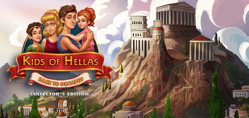 Kids of Hellas: Back to Olympus. Collector's Edition