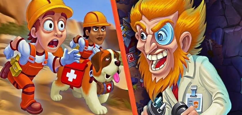 Rescue Team: Evil Genius + Collector's Edition